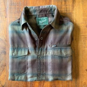 Woolrich Snap-Button Work Shirt Small